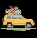 transport de personne taxi pèlerin sur le chemin de compostelle a Sant jean pied de port