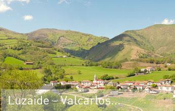 casas rurales se encuentran en el municipio de Luzaide-Valcarlos